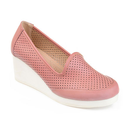 Journee Collection Womens Safire Slip-On Shoes, 8 Medium, Pink
