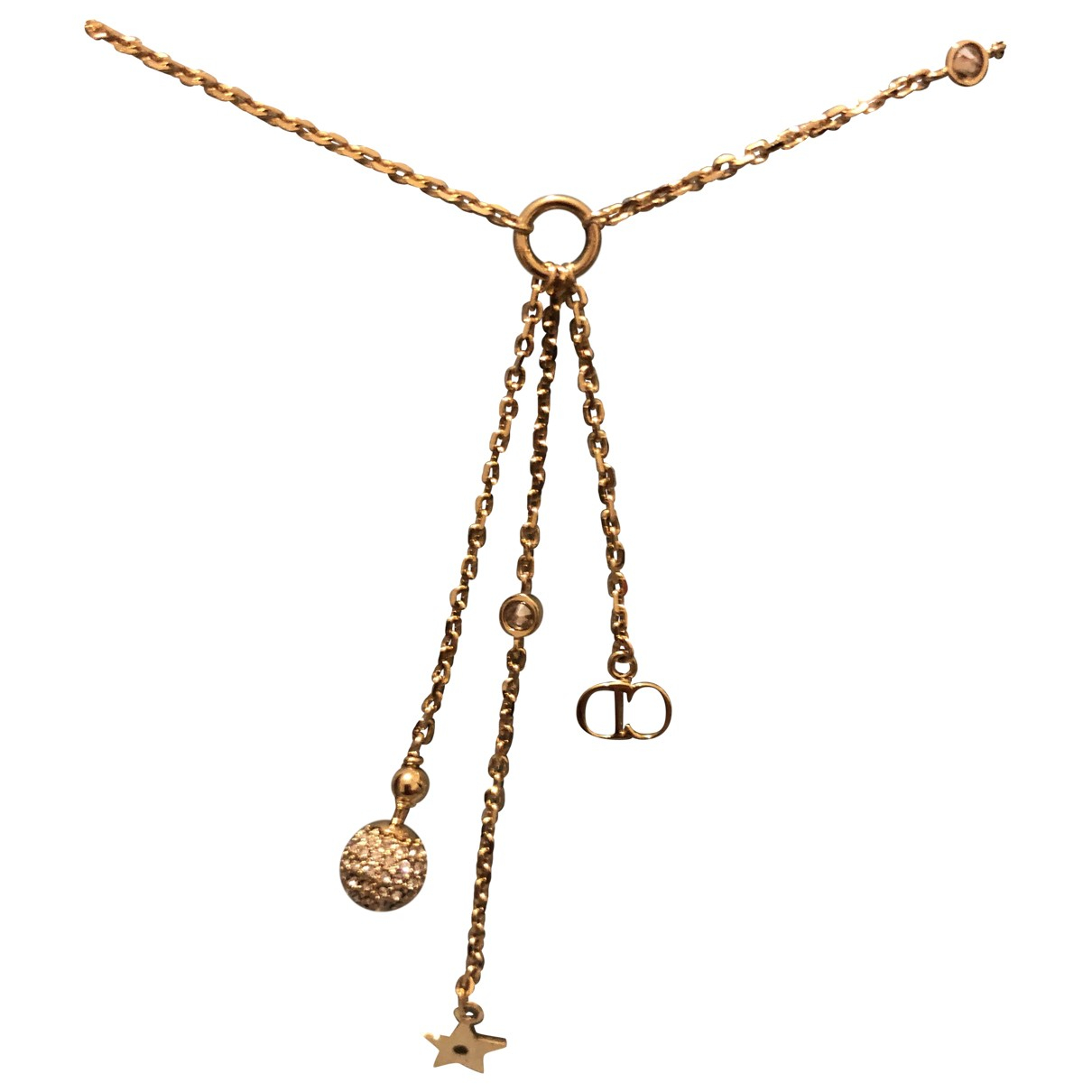 Dior \N Gold Metal necklace for Women \N