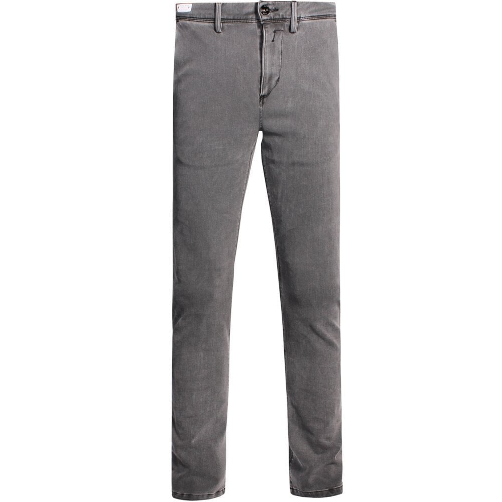 Replay Hyperflex Plus Jeans Grey  Colour: GREY, Size: 30 32