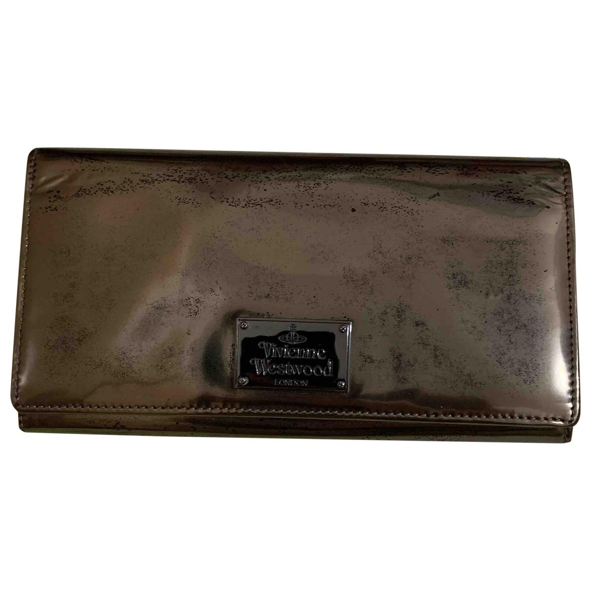 Vivienne Westwood \N Metallic Patent leather wallet for Women \N