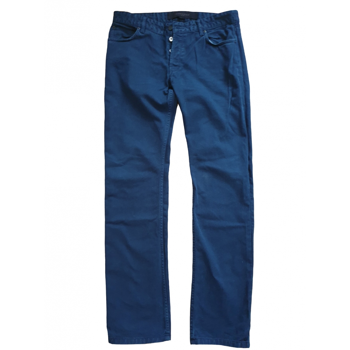 Surface To Air \N Blue Cotton - elasthane Jeans for Men 34 US