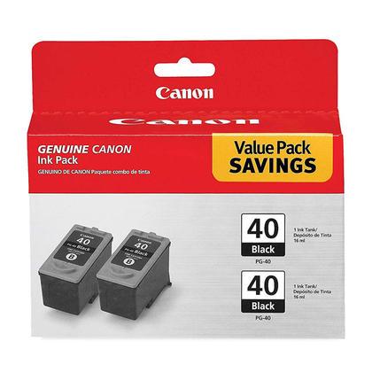Canon PG40 cartouche d'encre originale noire paquet double