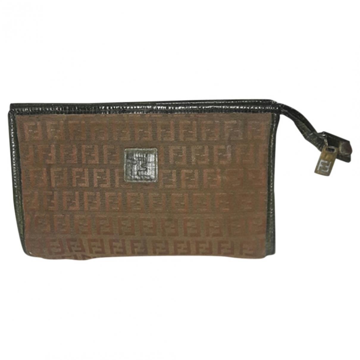 Fendi \N Brown Cloth Travel bag for Women \N