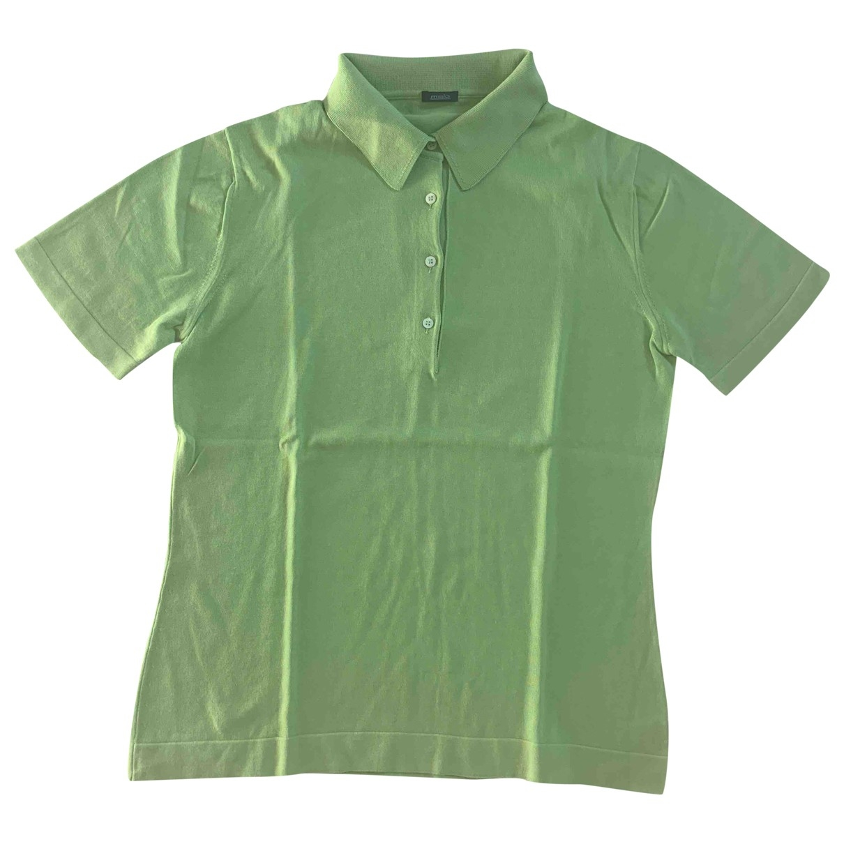 Malo \N Green Cotton  top for Women 46 IT