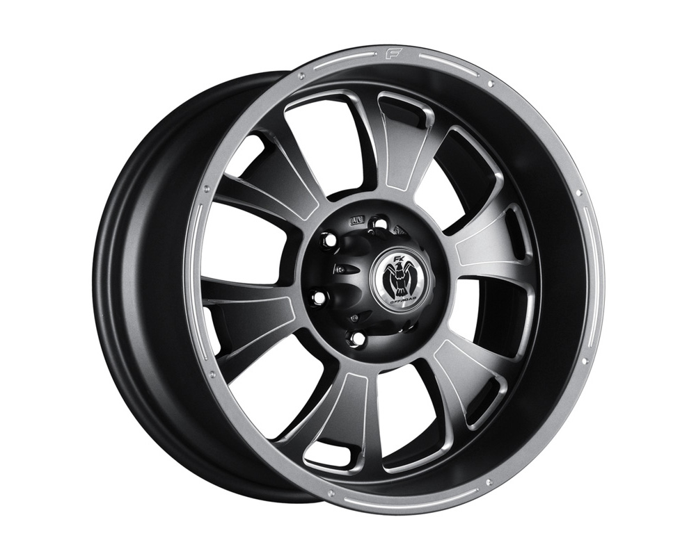FK Ethos ORC90917114 ORC909 Gunmetal Ball Cut Machined Wheel 17x8.5 8x170 12