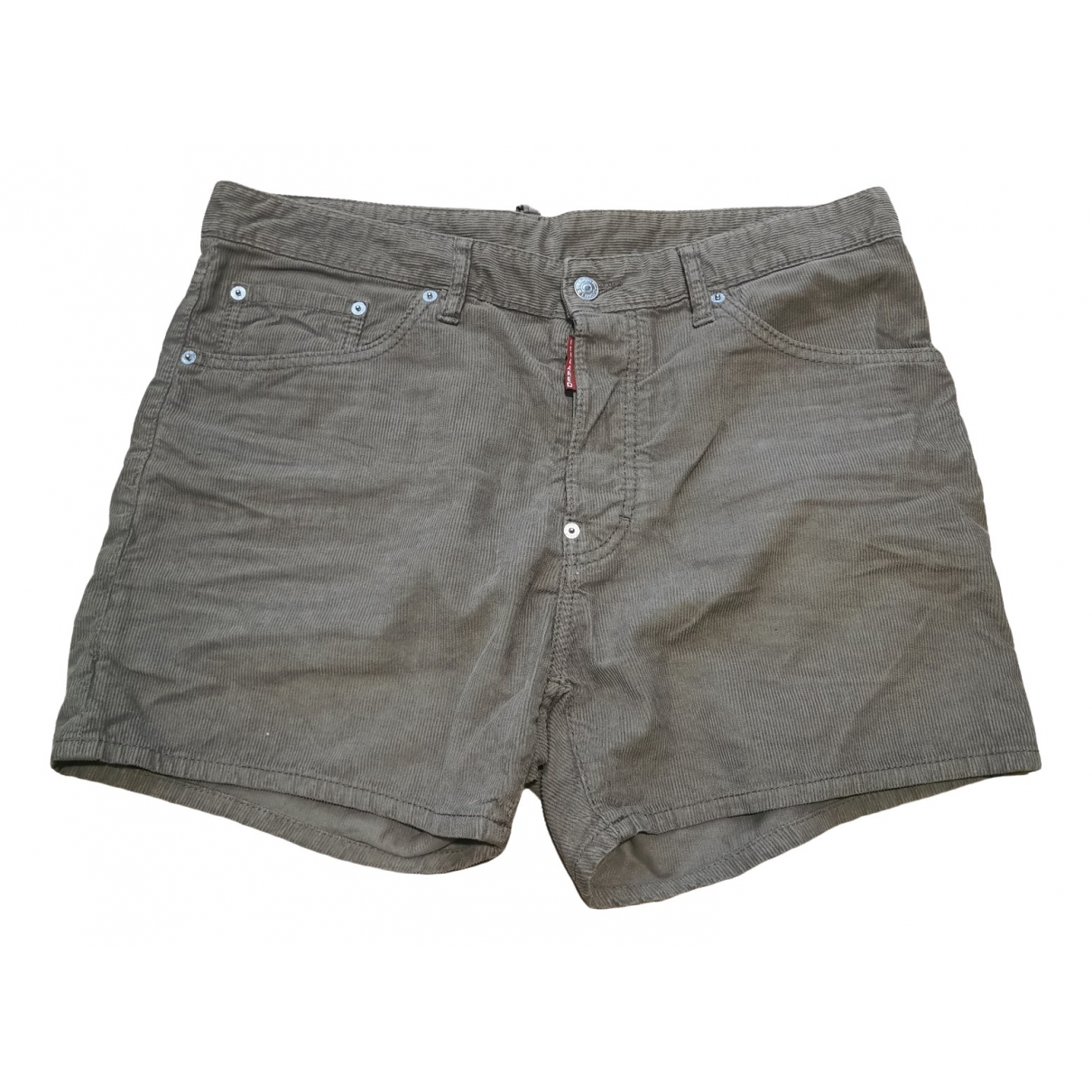 Dsquared2 \N Brown Cotton Shorts for Men M International