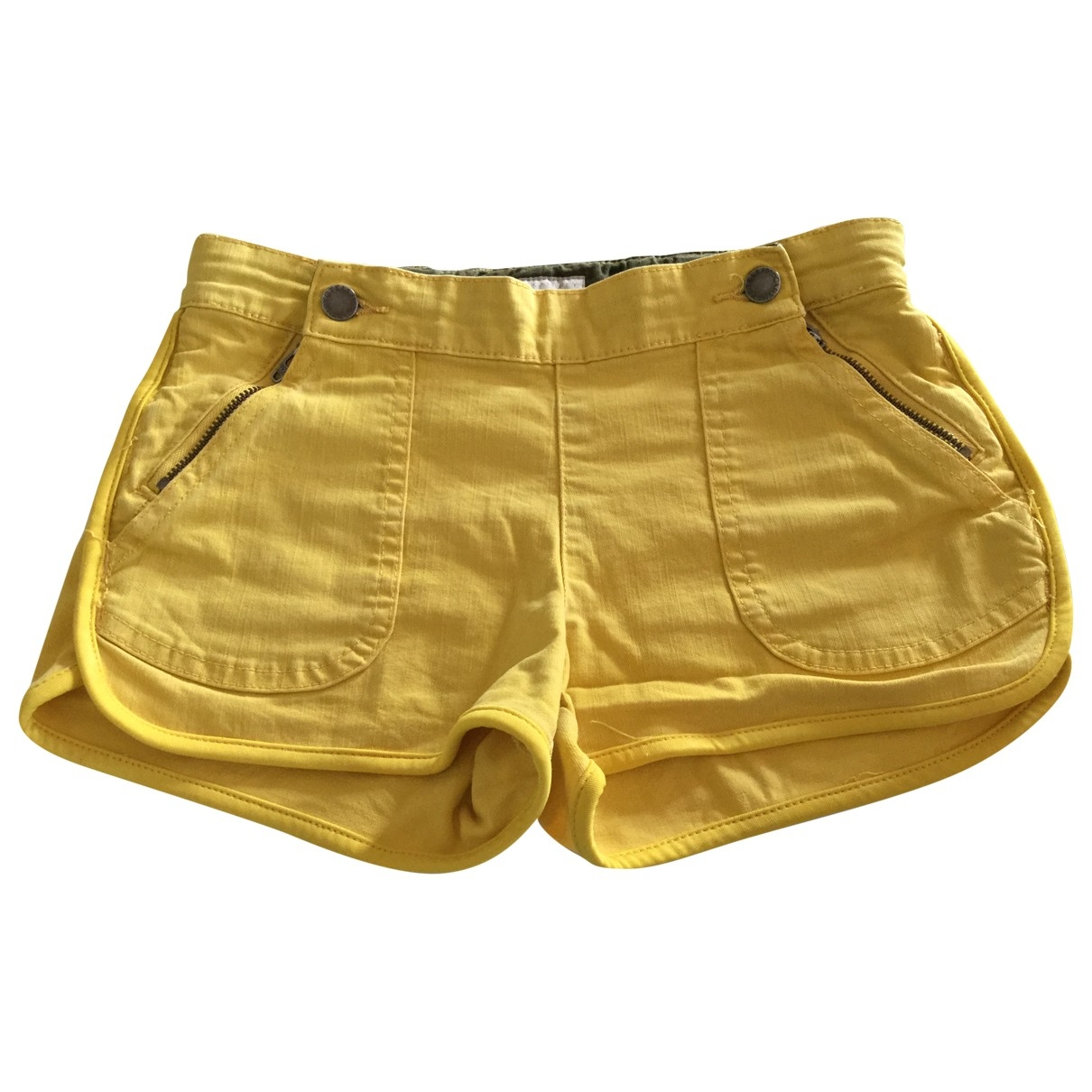 Stella Mccartney Kids \N Yellow Cotton Shorts for Kids 10 years - up to 142cm FR