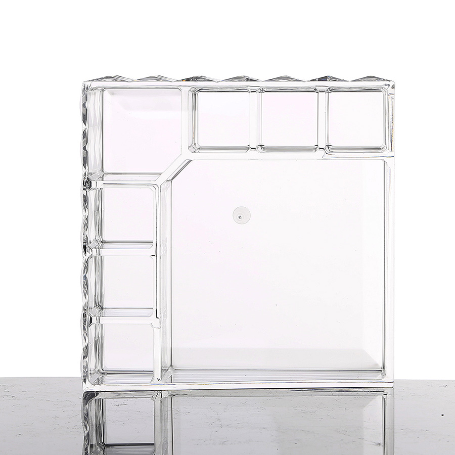 13.1*13.1*5.5cm Environment Friendly Acrylic Material Cosmetic Storage Box