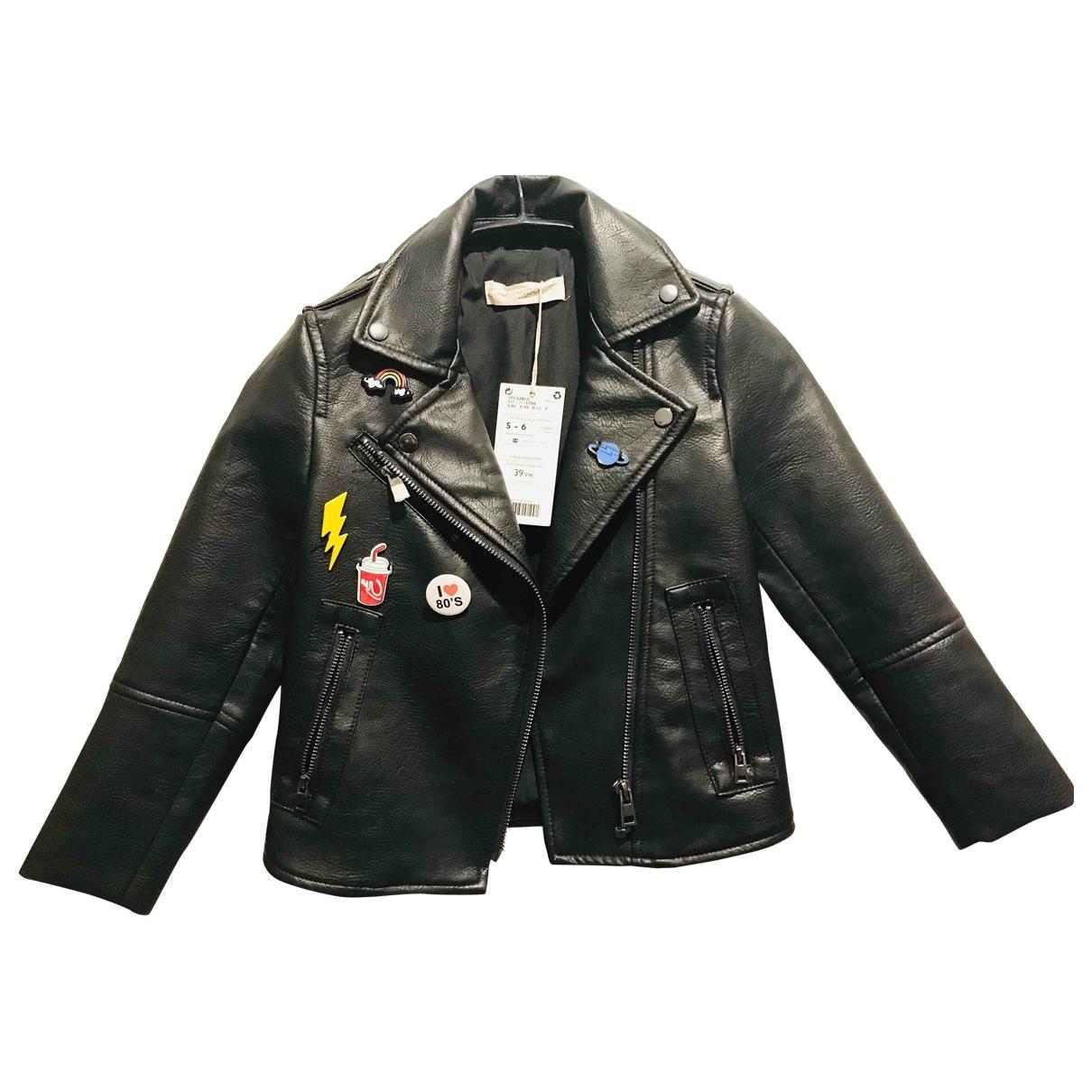 Mango \N Black jacket & coat for Kids 5 years - up to 108cm FR
