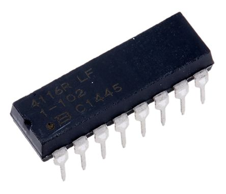 Bourns Isolated Resistor Array 1kΩ ±2% 8 Resistors, 2.25W Total, DIP package 4100R Through Hole (25)