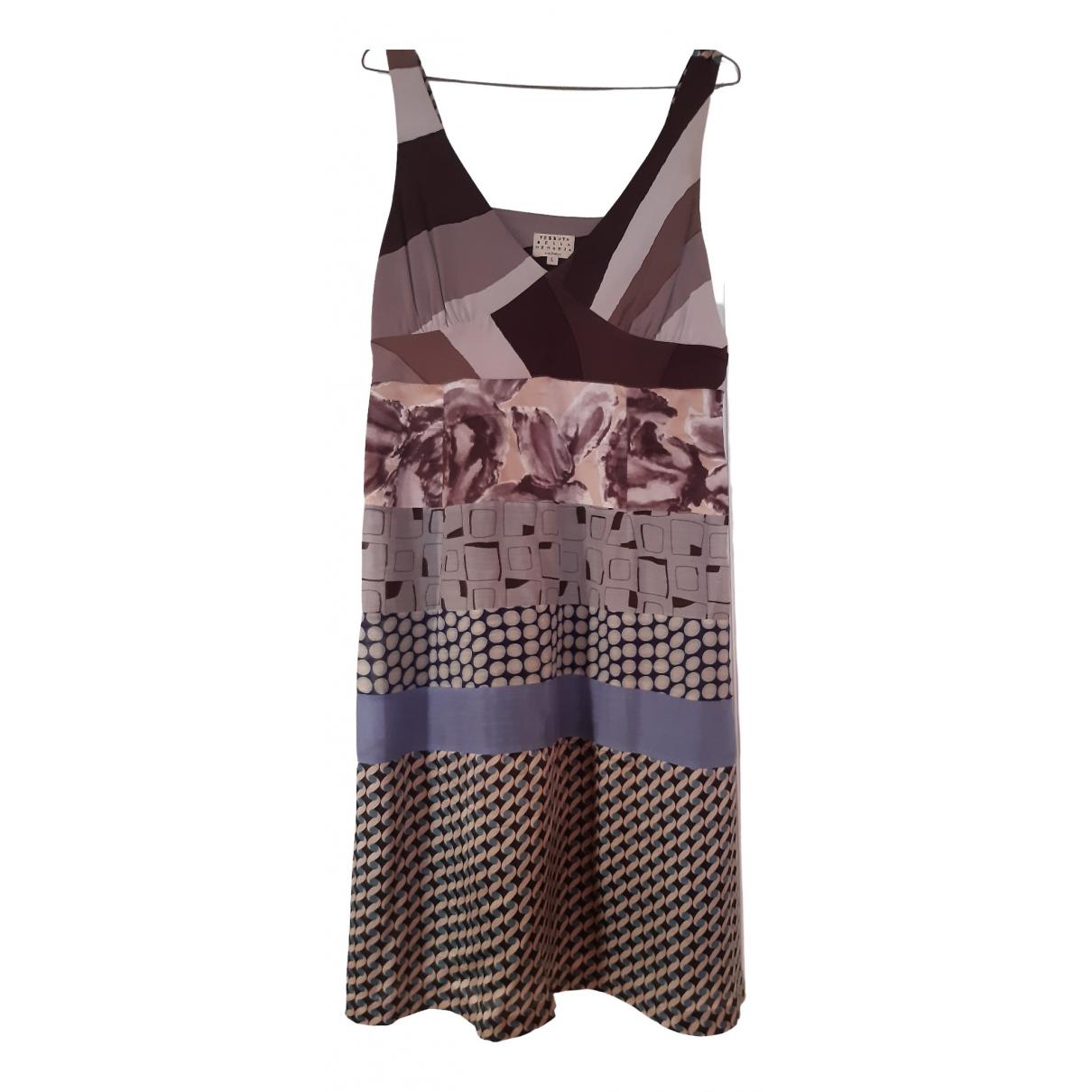 Maliparmi \N Multicolour Silk dress for Women 44 IT