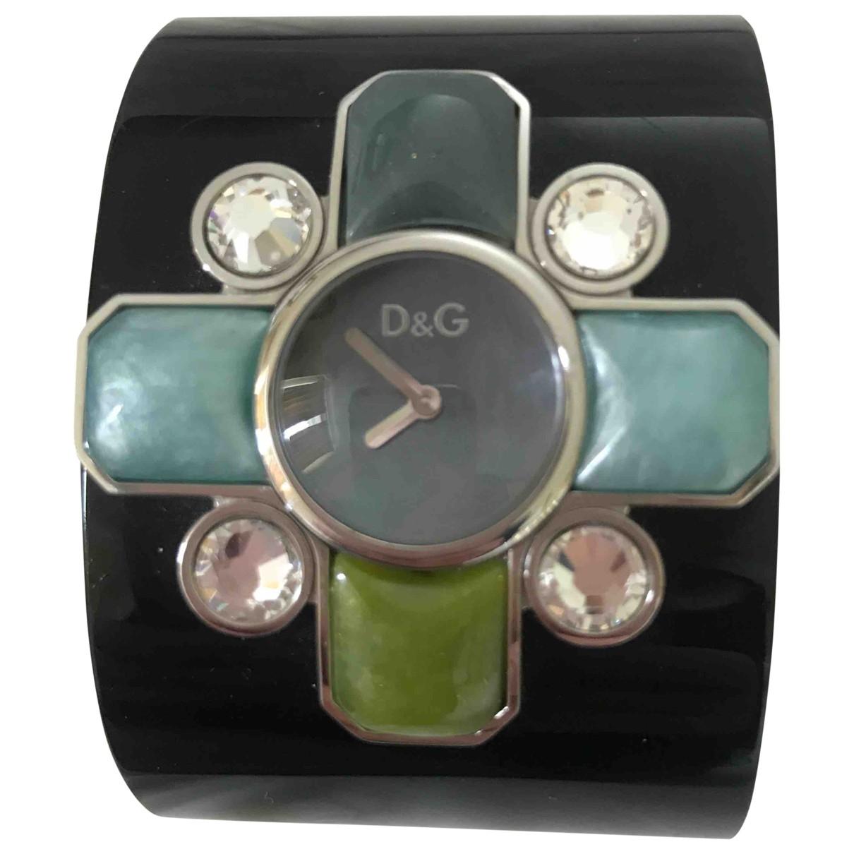 D&g \N Black watch for Women \N