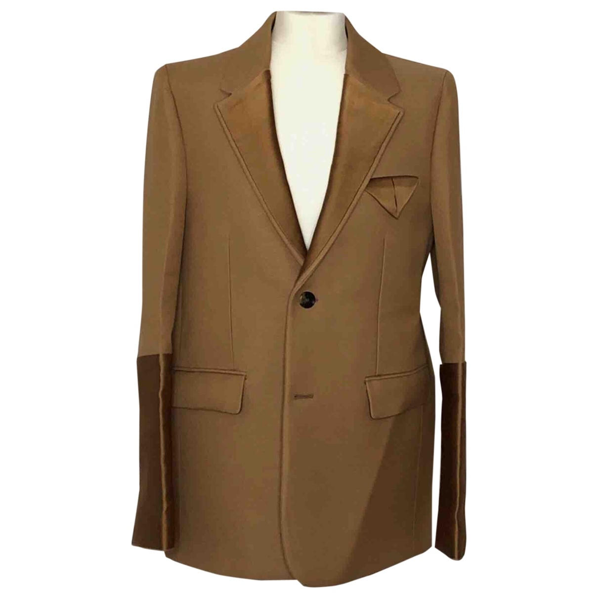 Bottega Veneta \N Camel Cotton jacket for Women 42 FR