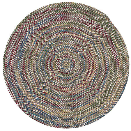Colonial Mills Andreanna Reversible Braided Round Rug, One Size , Gray