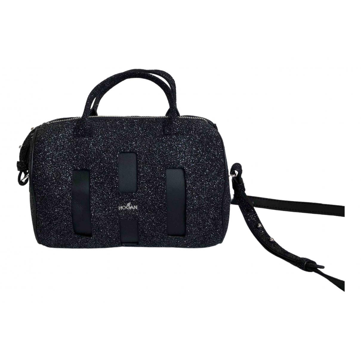 Hogan \N Black Glitter handbag for Women \N