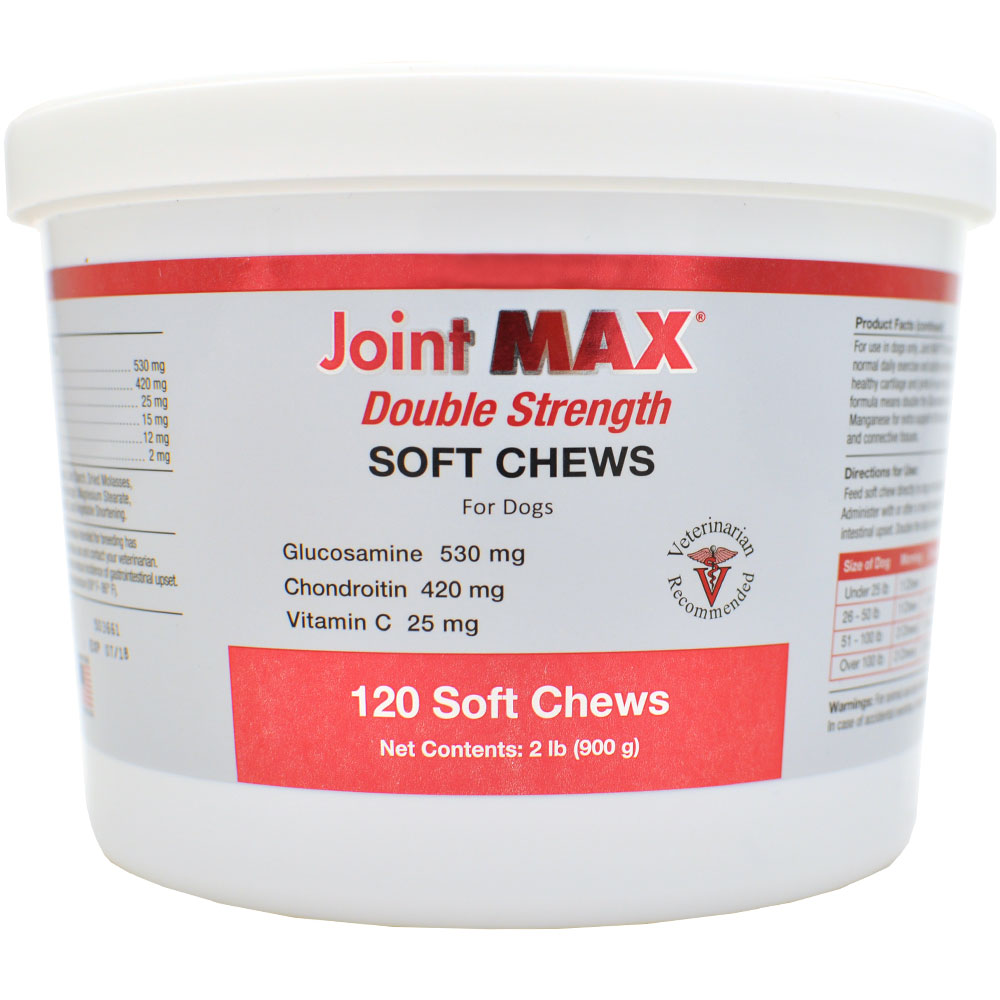 Joint MAX Double Strength Soft Chews (120 Chews)