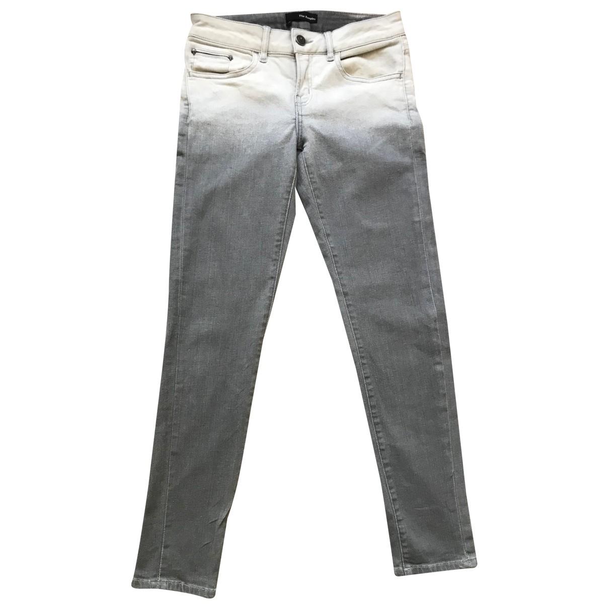The Kooples \N Grey Jeans for Women 25 US