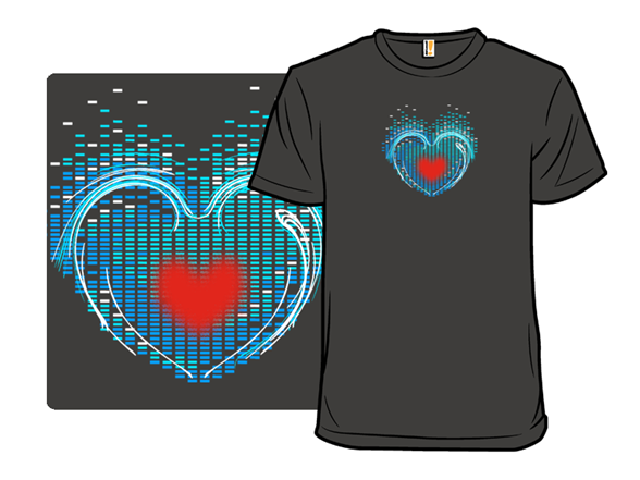 Music Fills My Heart Container T Shirt