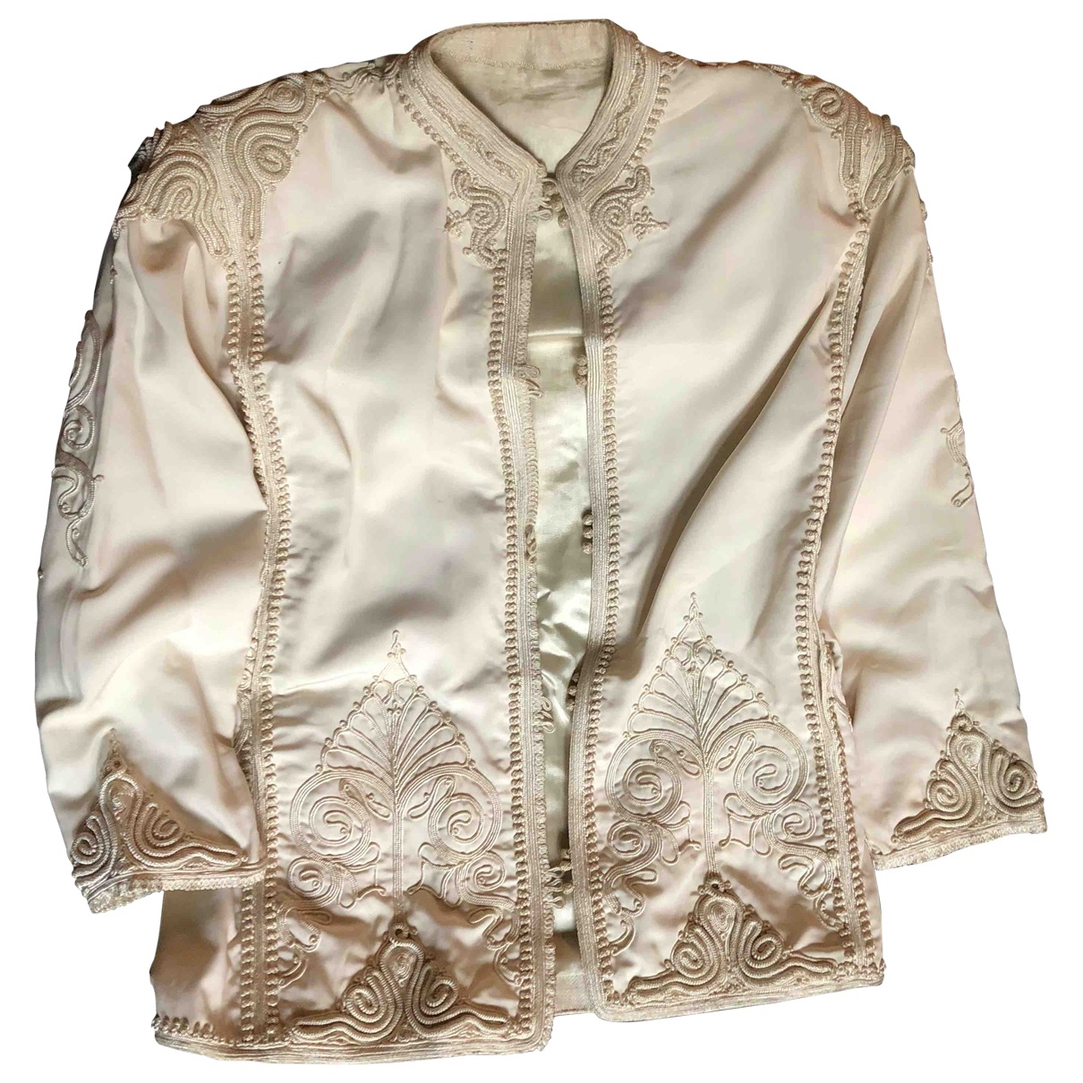 Non Signé / Unsigned \N Silk jacket for Women 16 UK