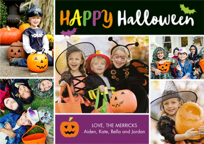 Halloween Photo Cards 5x7 Cards, Premium Cardstock 120lb with Elegant Corners, Card & Stationery -Halloween Fun