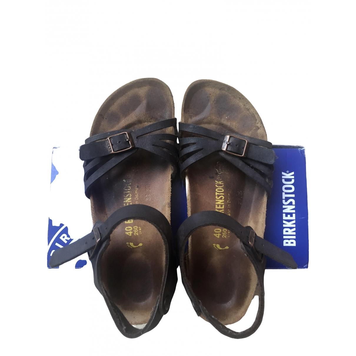 Birkenstock \N Brown Leather Sandals for Women 40 EU