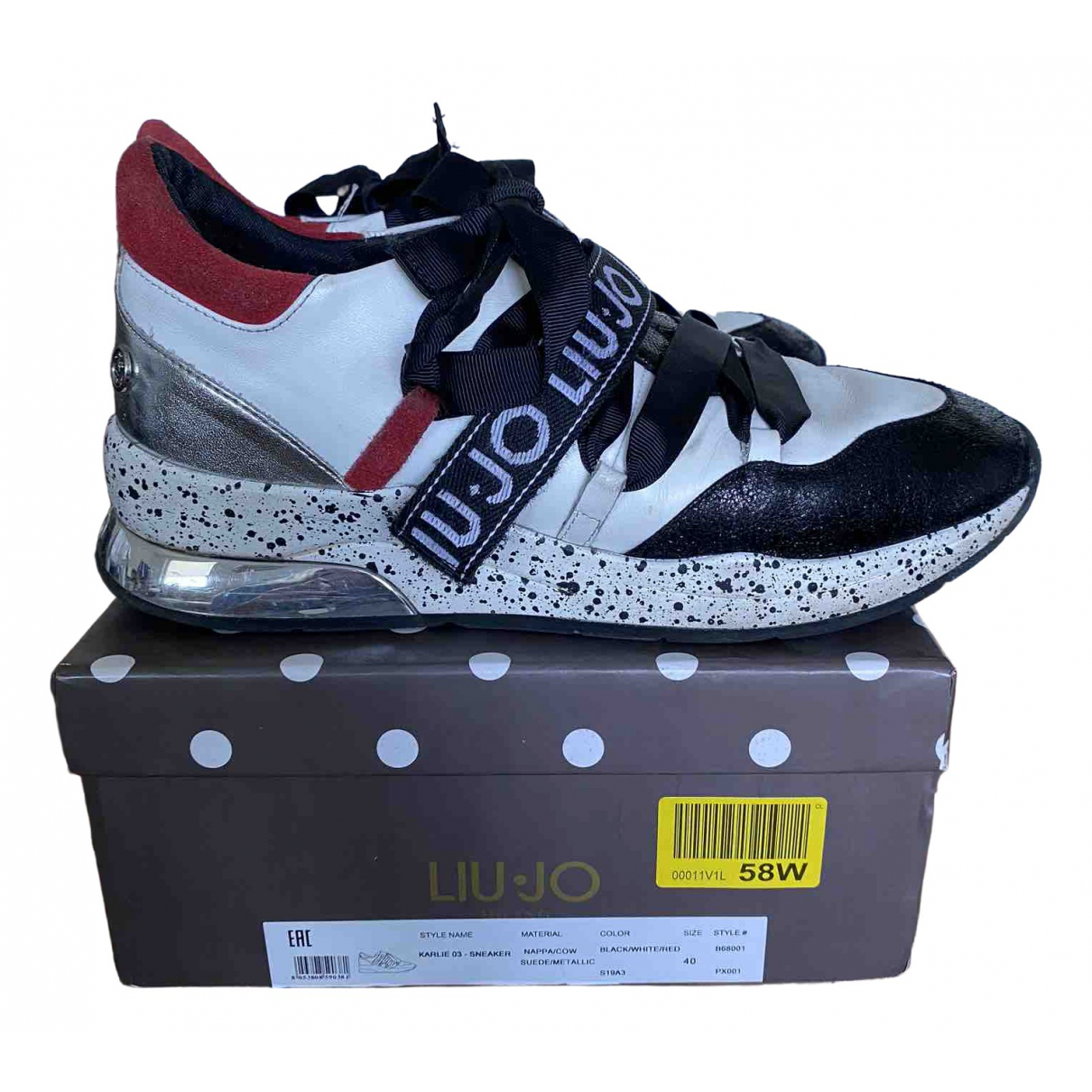 Liu.jo \N Multicolour Cloth Trainers for Women 40 EU
