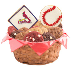 MLB St. Louis Cardinals Cookie Basket