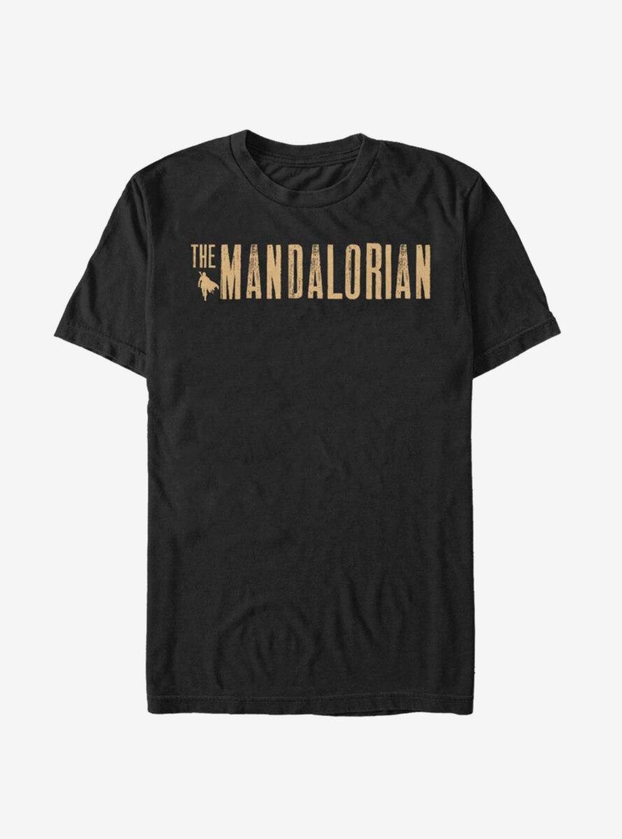 Star Wars The Mandalorian Simplistic Logo T-Shirt