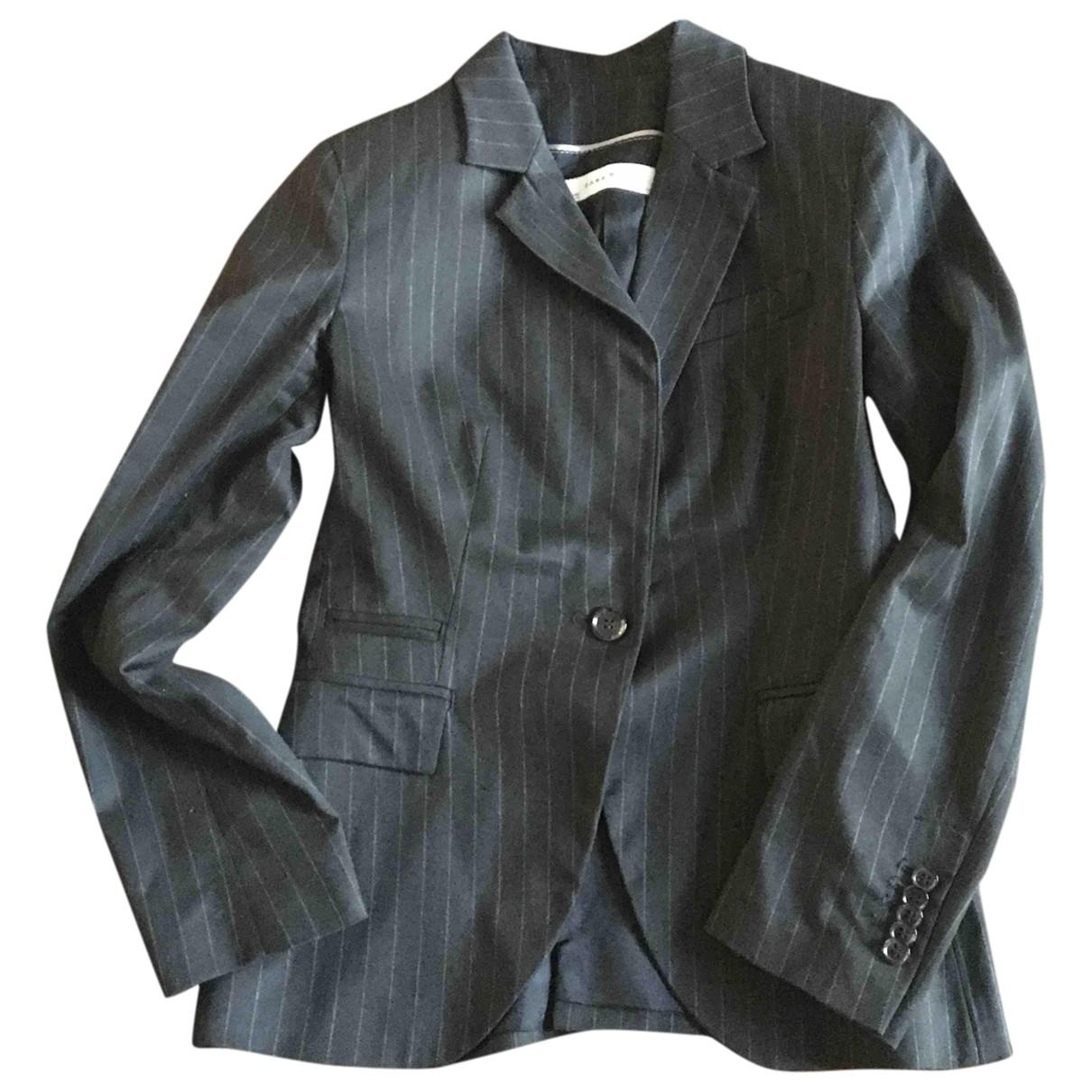 Zara \N Anthracite jacket for Women M International