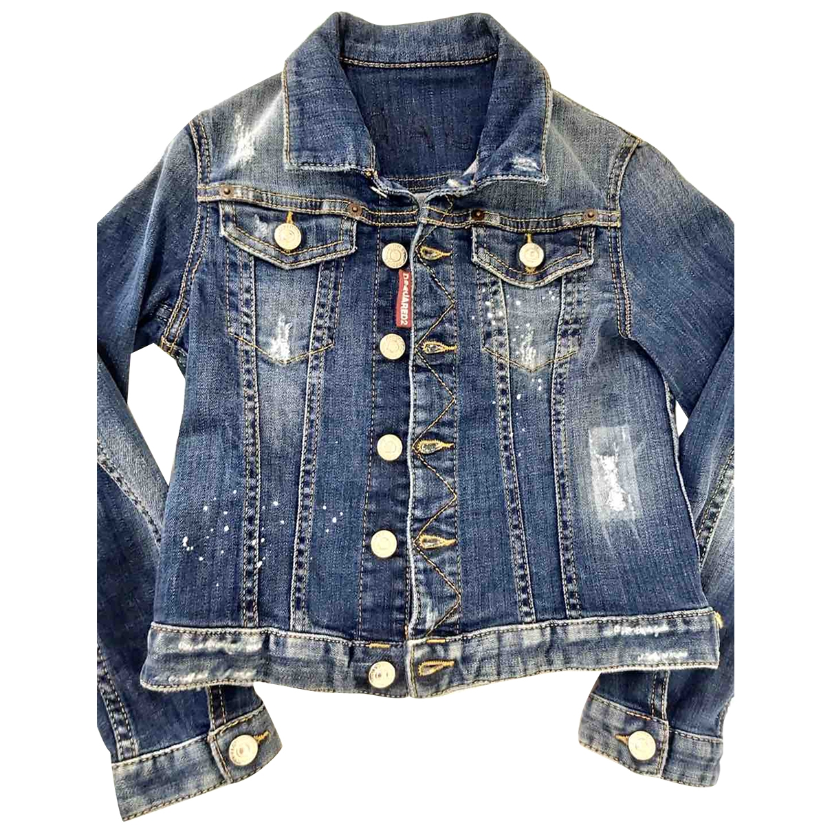 Dsquared2 \N Blue Denim - Jeans jacket & coat for Kids 8 years - up to 128cm FR
