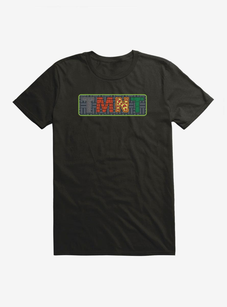 Teenage Mutant Ninja Turtles TMNT Badge T-Shirt