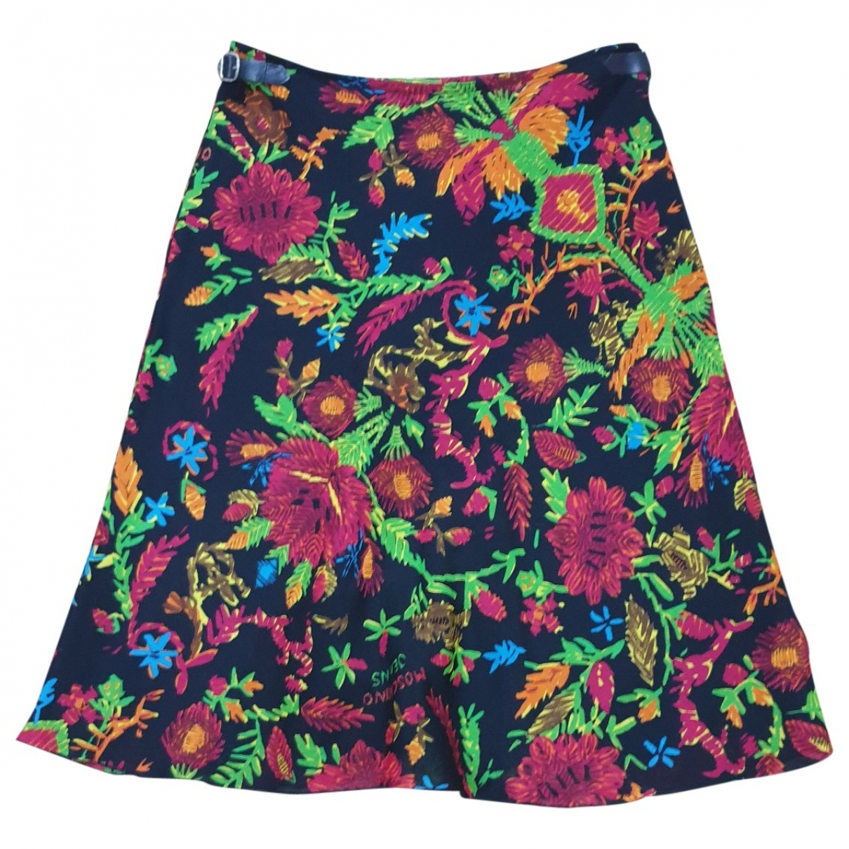Moschino Love \N Multicolour Wool skirt for Women 42 IT