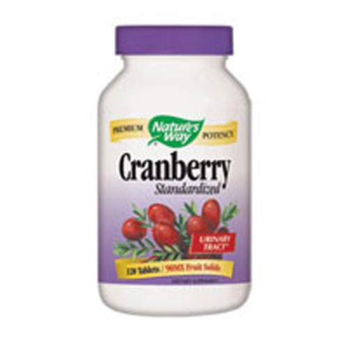 Cranberry Extract 120 Tabs by Nature's Way