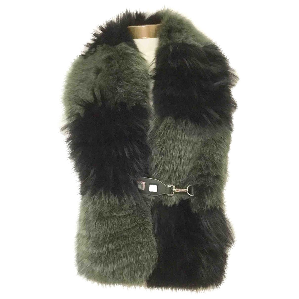 Fendi \N Green Fox scarf for Women \N