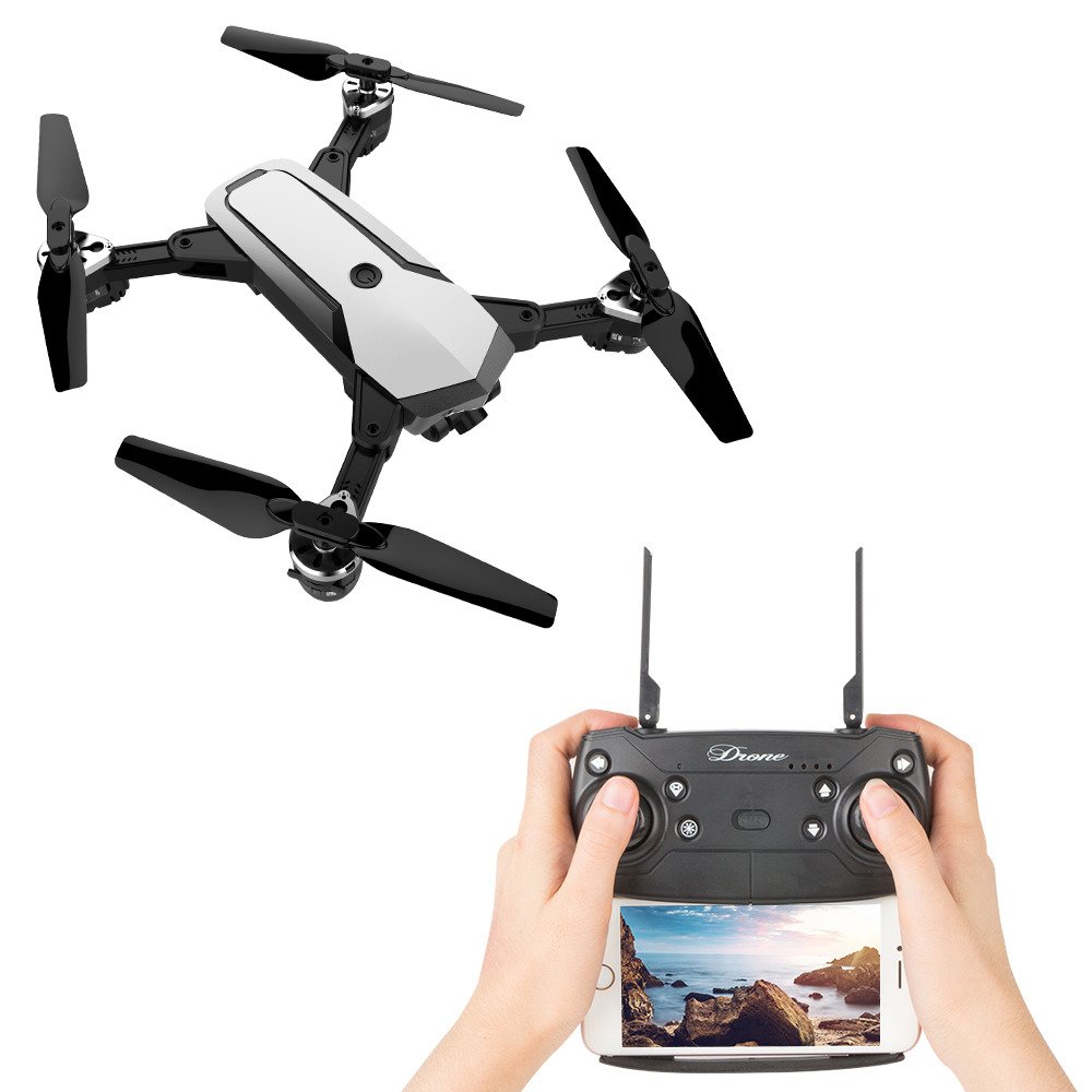 JDRC JD-20S PRO WIFI FPV Foldable RC Drone With 1080P Wide-angle HD Camera Flying Time 18mins RTF - White