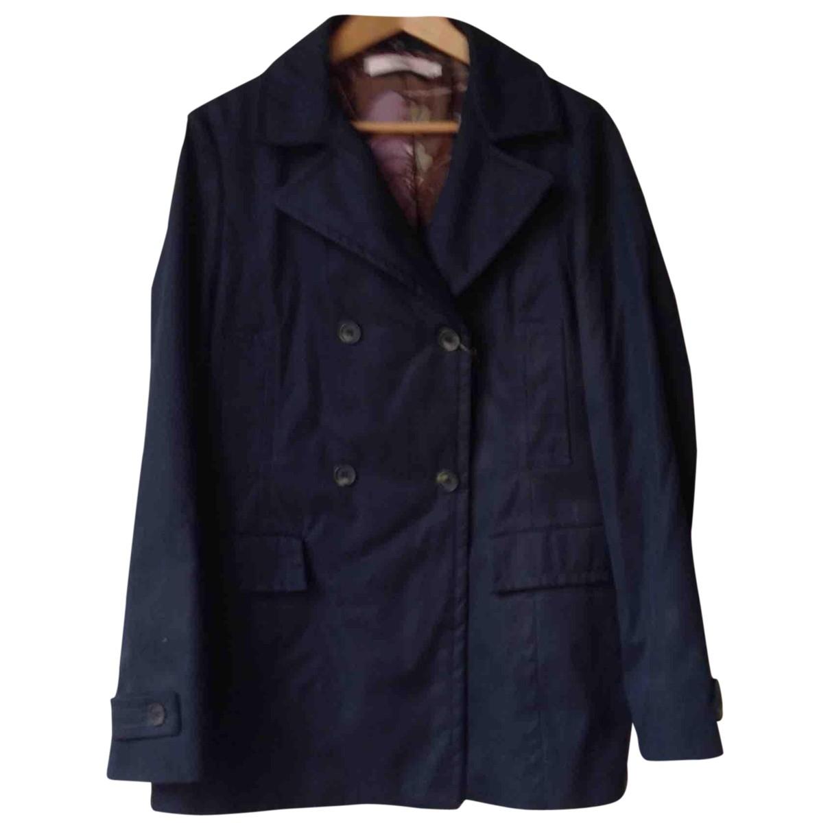 Red Valentino Garavani \N Blue Cotton jacket for Women 48 IT