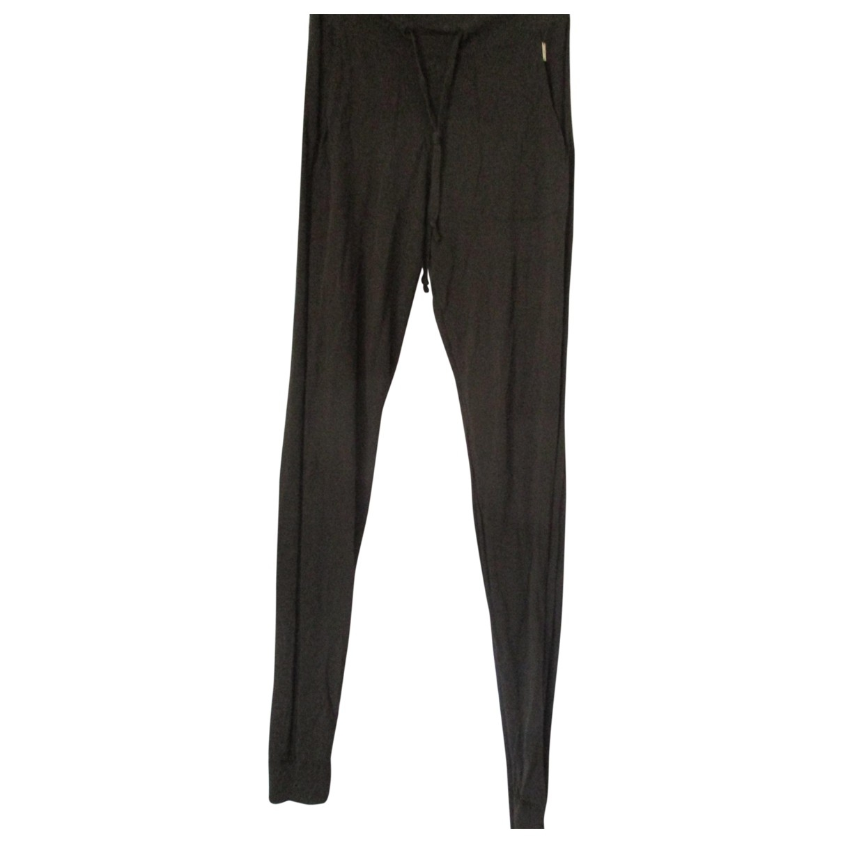 Woolrich \N Brown Cotton Trousers for Women M International