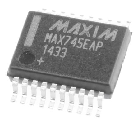 Maxim Integrated Maxim MAX745EAP+, Lithium-Ion, Lithium-Polymer, Battery Charge Controller 20-Pin, SSOP