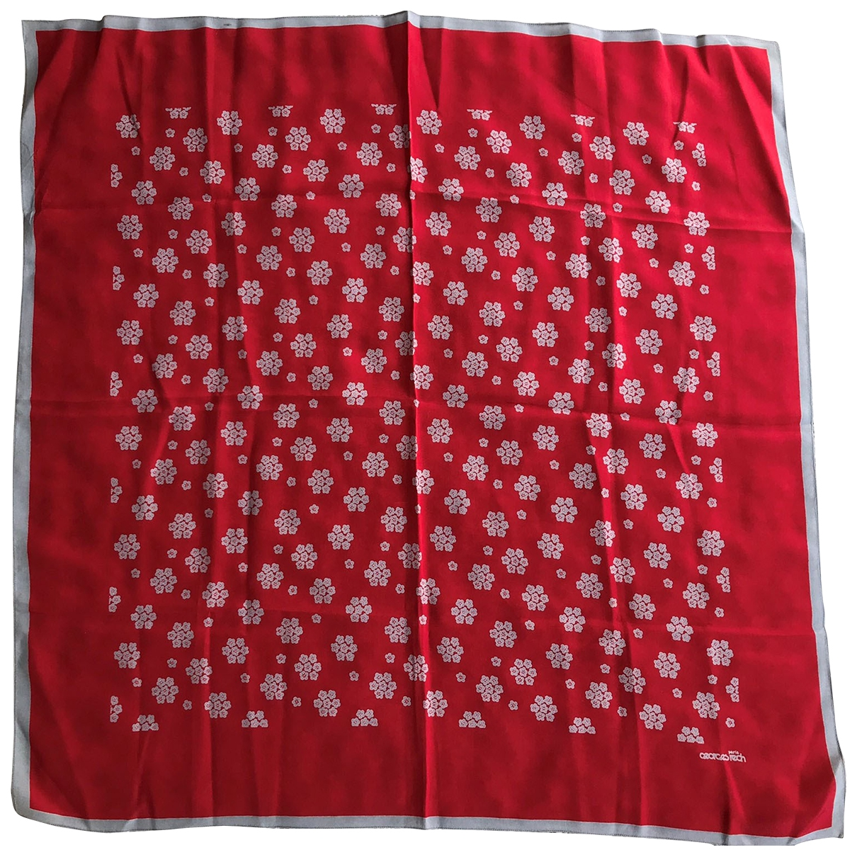 Georges Rech \N Red Silk scarf for Women \N