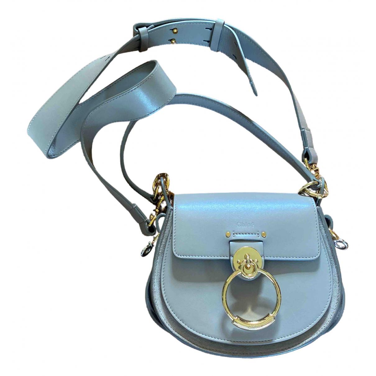 Chloé Tess Beige Leather handbag for Women \N