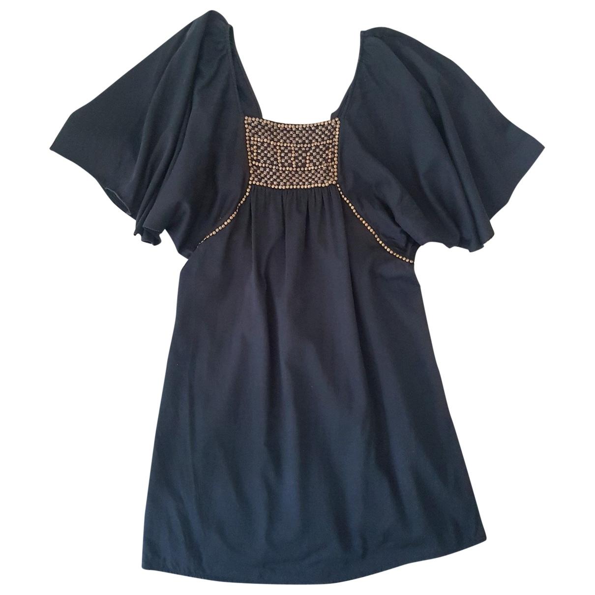Bel Air \N Black Cotton dress for Women M International