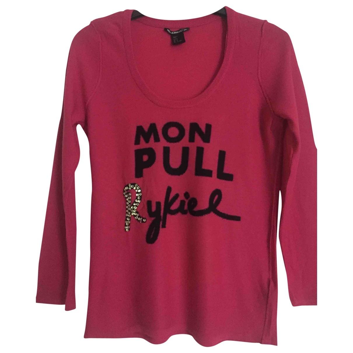 Sonia Rykiel Pour H&m \N Pink Wool Knitwear for Women M International