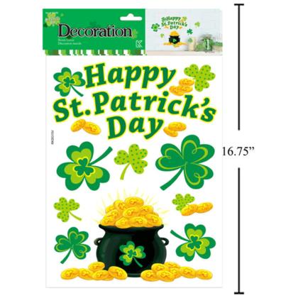 Décoration de la chambre St.Patrick, 16,65 `` x 9,85 '' - Style 02
