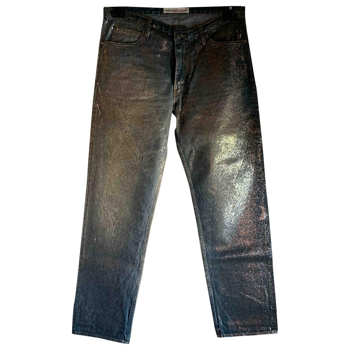 Golden Goose \N Blue Denim - Jeans Jeans for Women 28 US