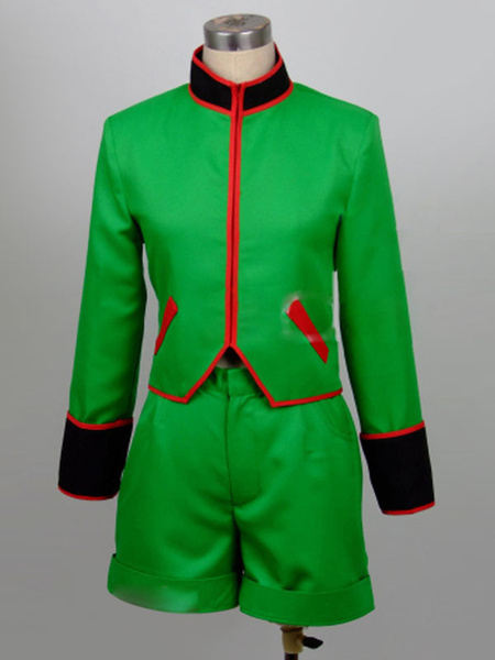 Milanoo HUNTER×HUNTER Gon Freecss Halloween Cosplay Costume Halloween