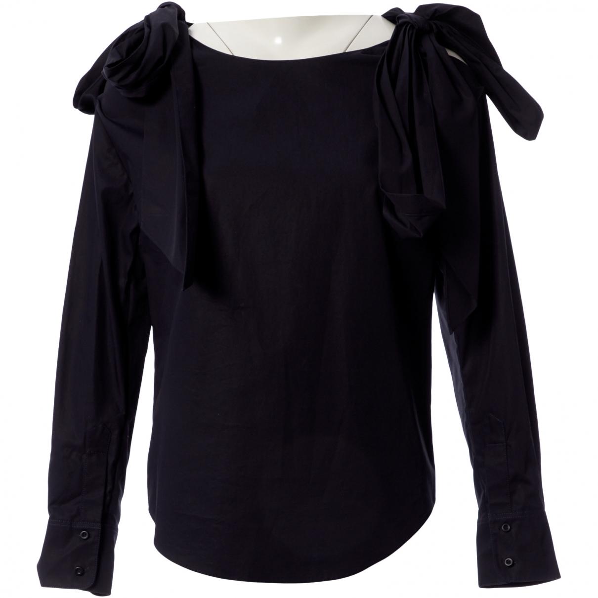 Chloé \N Navy Cotton  top for Women 34 FR