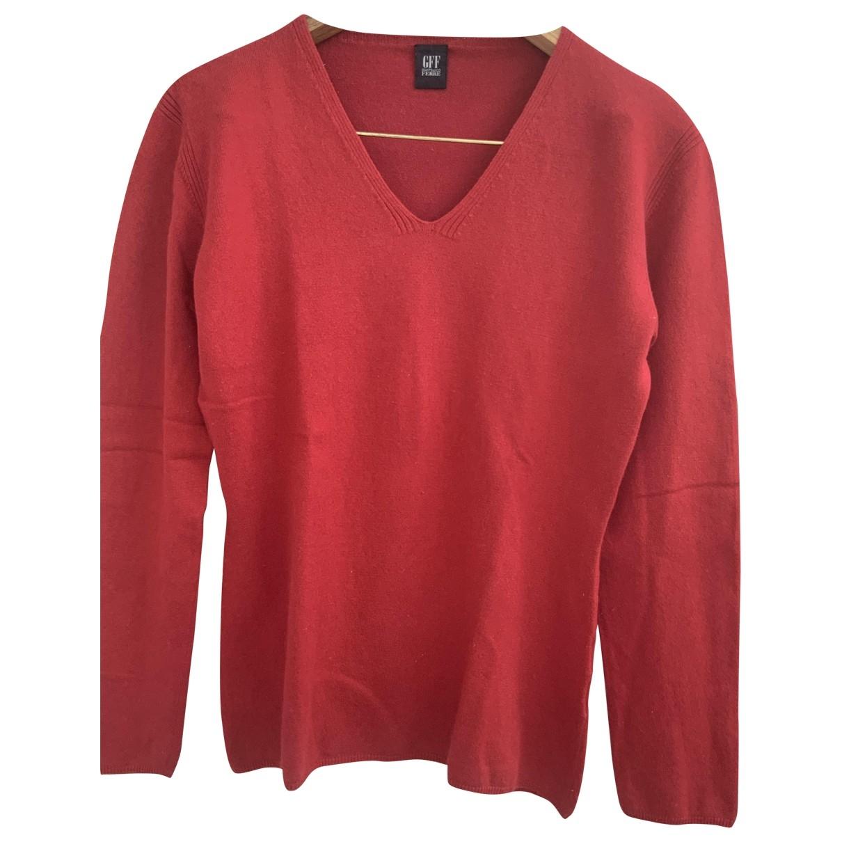 Gianfranco Ferré \N Red Cashmere Knitwear for Women 44 IT