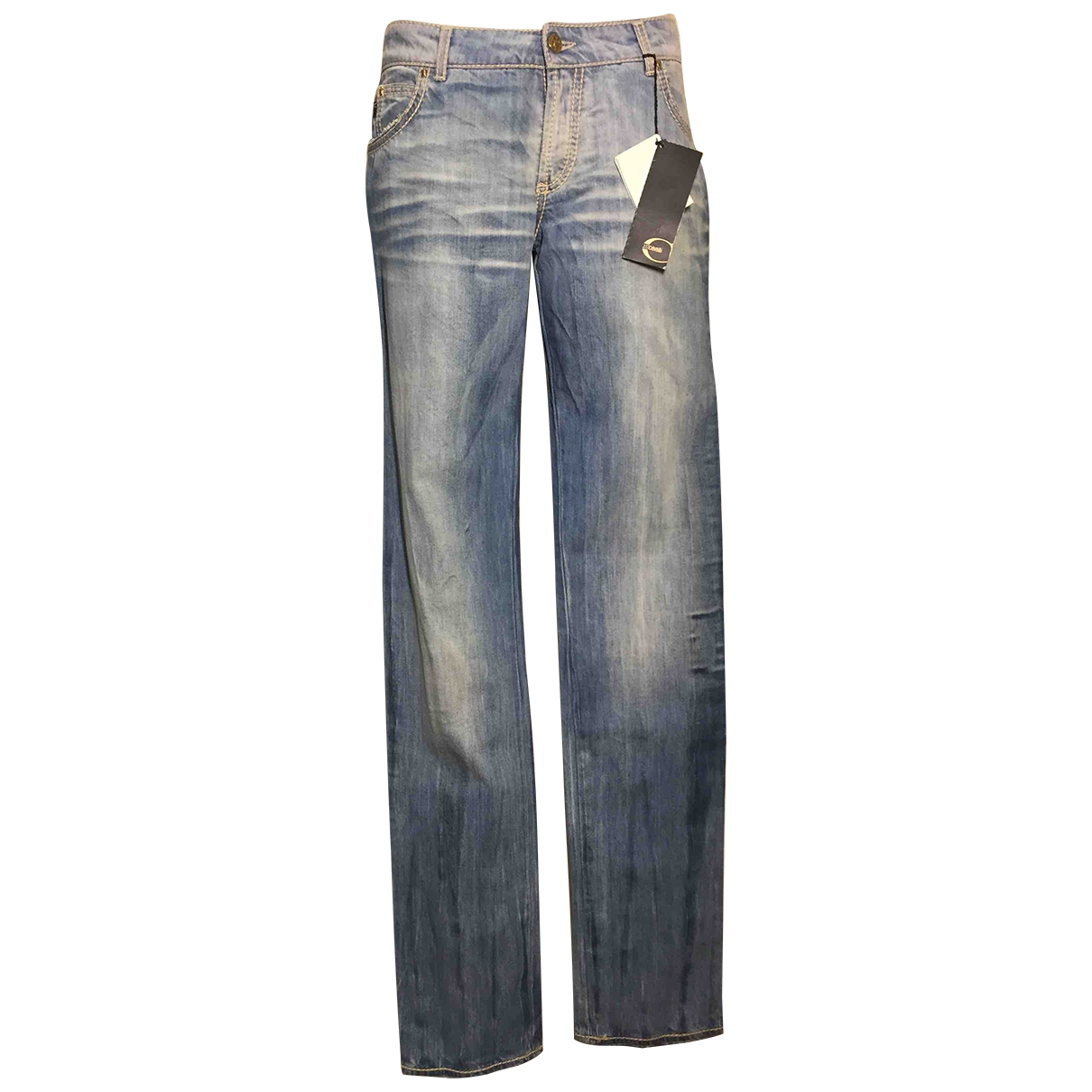 Just Cavalli \N Blue Cotton Jeans for Women 29 US
