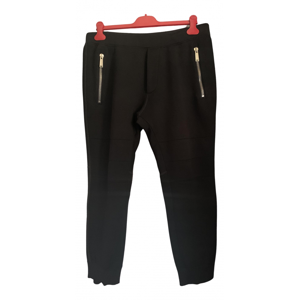Dsquared2 \N Black Trousers for Men XL International