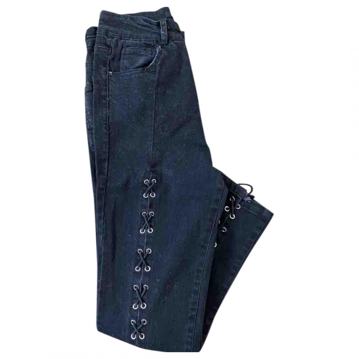 Yvonne Yvonne \N Black Denim - Jeans Trousers for Women S International